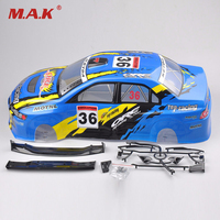 Canopy 030B 190MM Drift Car Painted 1 10 RC Model Car PVC Body Shell Rear Wing