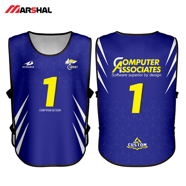 4f188c239 Customized sublimated soccer wrestling uniforms mens white black tank tops  design summer football singlet blue vest