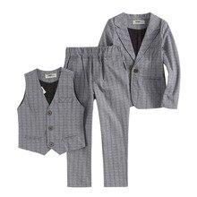 Todller костюмы для мальчиков установить в том числе 3 шт. 1601SS01