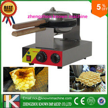factory price 5% discount for hong kong egg waffle maker iron