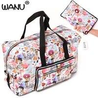 Large Capacity Bags Waterproof Folding Bag Function Travel Handbags Shoulder Bag Women Luggage Bags Fashion Hot