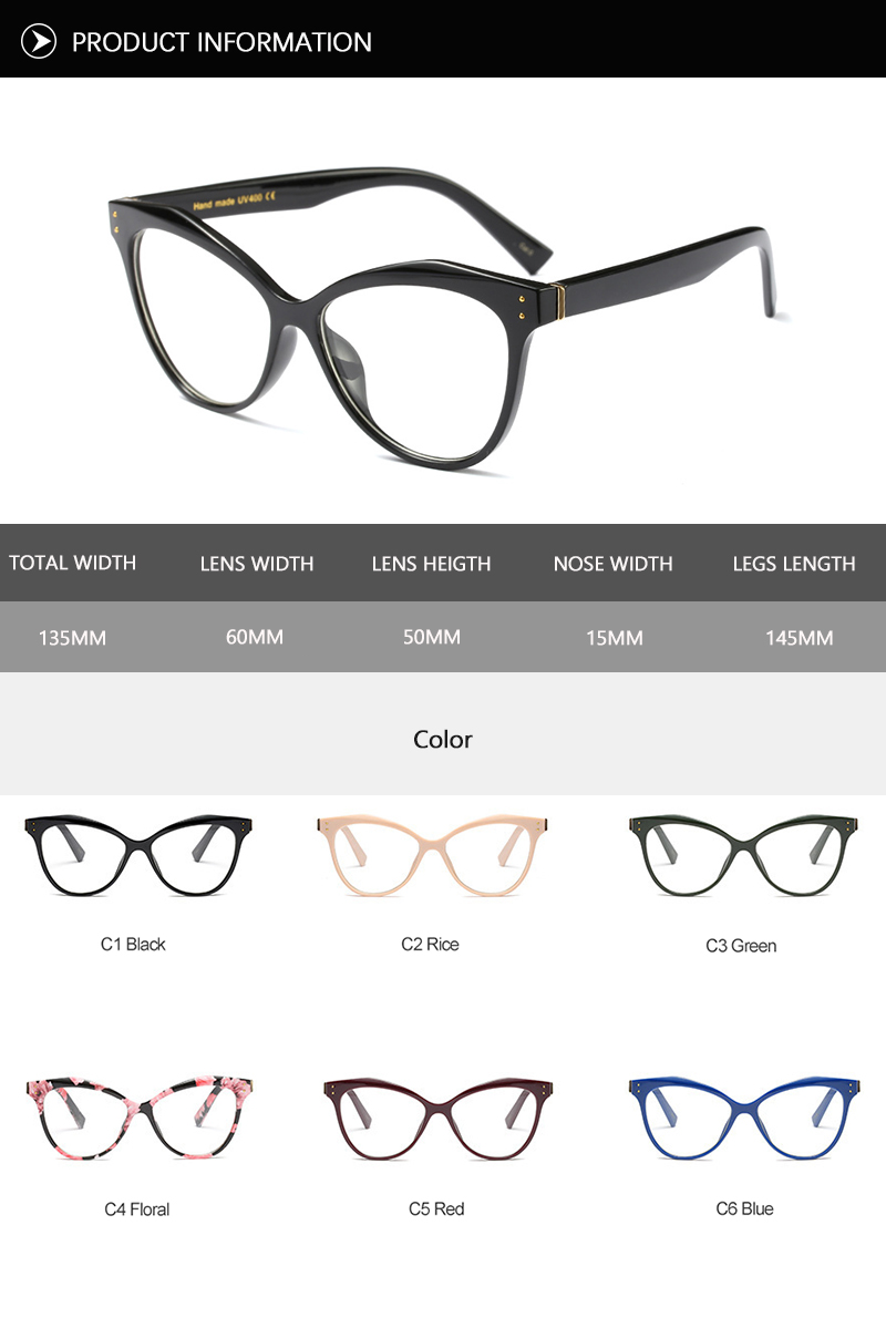 2018 News Cat Eye Sunglasses (23)