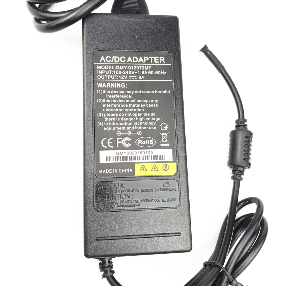 12V Wall Power Supply Adapter for QYT KT8900 KT-8900D KT-7900D Car Mobile Radio