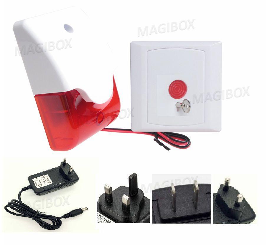 12V light alarm Toilet alarms disabled medical alarm emergency button Kit kitrcp631000wesaf9902rd value kit safco step on medical receptacle saf9902rd and rubbermaid toilet bowl brush rcp631000we