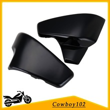 Motorcycle Battery Side Cover For Honda VT 600 Shadow VLX Deluxe 2007 ,Steed 400 / 600 1988 1990 1997 Steed 400VLS 1998