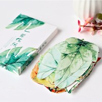 30pcs Lot Novelty Leaves Shape Postcard Greeting Card Christmas Card Birthday Card Gift Cards Invitatioin Wedding