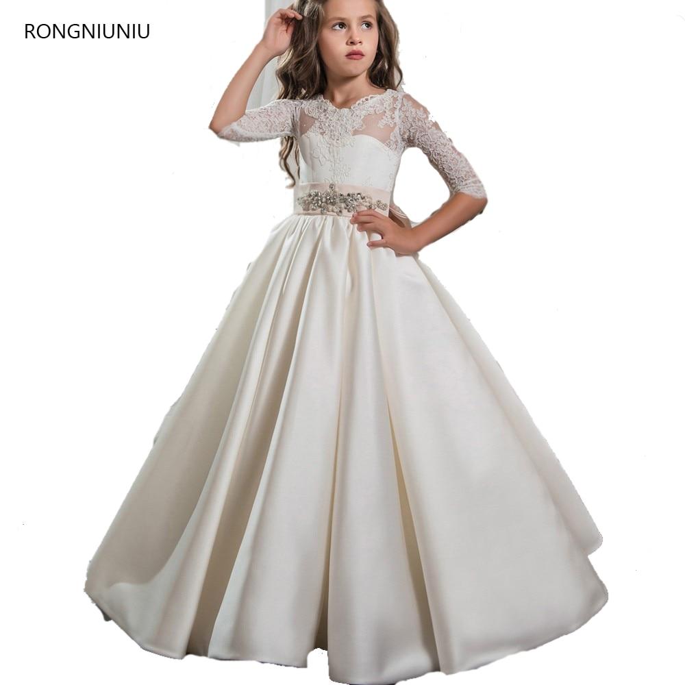 Popular Elegant Communion Dresses-Buy Cheap Elegant