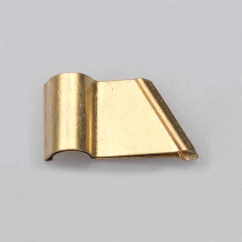 Bronze Vintage English Calligraphy Copperplate Oblique Dip Pen Flange Changeable Bronze Oblique Flange For Dip Pen