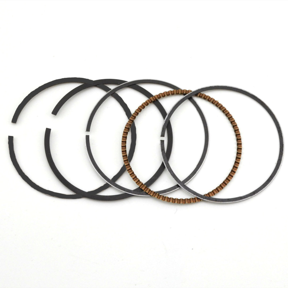 5 pcs Motorcycle Cylinder Piston Rings Gaskets Rings For Suzuki GN250 1985-2001 GZ250 Marauder 1999-2010 TU250 1997-2001