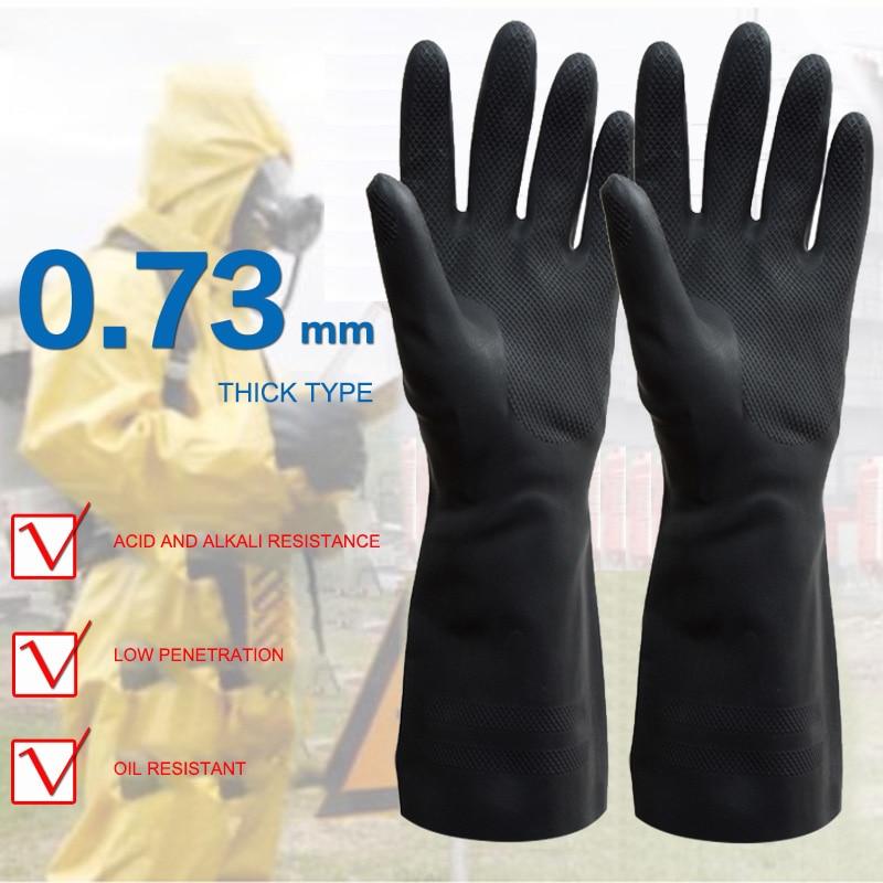 Full Finger Working Gloves Protective Chemical Resistant Gloves Safety Gloves Anti slip Outdoor Sport Gloves for Men Women|Self Defense Supplies| |  - title=