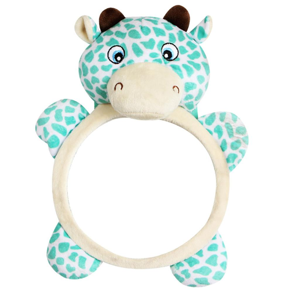 Baby Car Safety Seat Rearview Mirror Child Cute Cartoon Frog Shape Car Rear View Mirror Family General Car Rearview Mirror