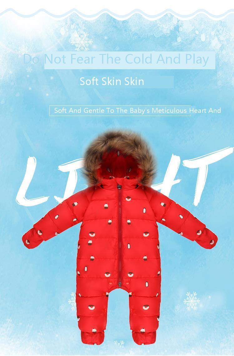 29535cdbc Detail Feedback Questions about new born jumpsuit kids winter baby ...
