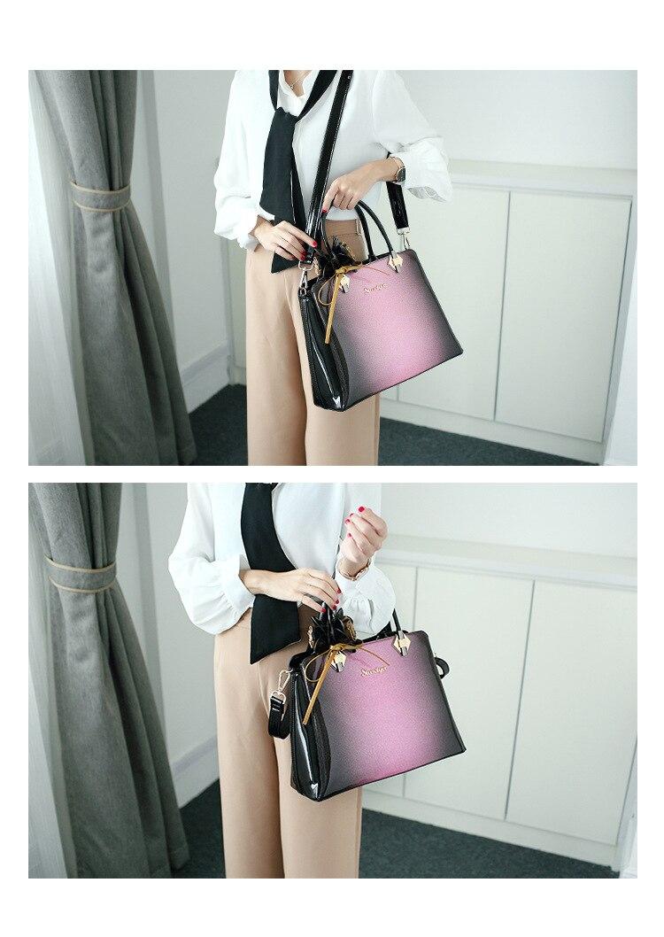 bolsa de couro patente bolsas femininas marcas