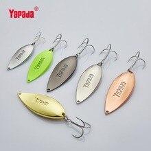 YAPADA Spoon 002  Viper 10g/15g/20g/25g 43-58mm Treble HOOK Metal Spoon Multicolor Fishing Lures