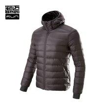BMAI Running Jacket Men&Women Ultra-Light Winter Warm Down Sports Clothing Windproof Long Sleeve Jacket Waterproof Lovers