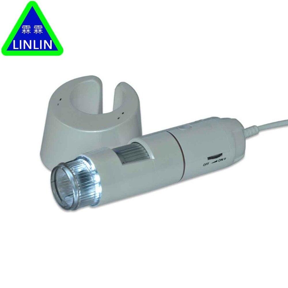 LINLIN Face intelligent dermal detector skin analyzer beauty parlour USB HD portable magic mirror instrument