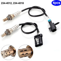 4Pcs O2 Oxygen Sensor 1 2 for 234 4012 234 4018 Chevrolet Silverado 1500 4.3L 4.8L Car Styling CSL2017