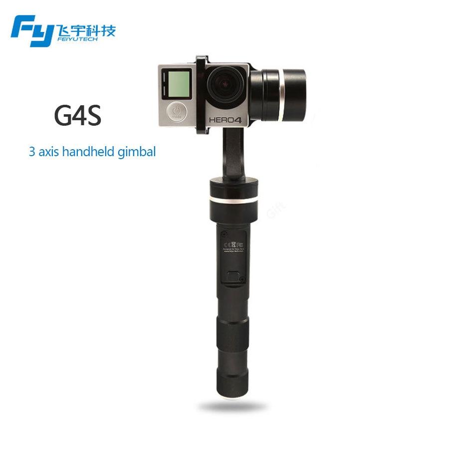 Feiyu FY G4S Gimbal Coverage 3 Axis full 360 Degrees Handheld Gimbal Suitable for GoPro HERO 4 / HERO 3+ / HERO 3 Action Camera