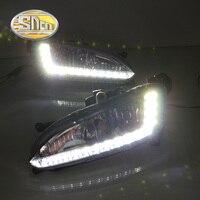 Turn Off Style Relay LED Daytime Running Light LED DRL For Hyundai IX45 2013 2014 2015