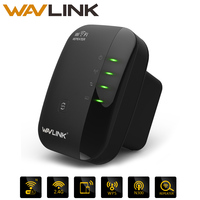 Wavlink 300Mbps Wireless N Wifi Repeater Router Signal Booster Extender Amplifiern Support Repeater AP Mode Black