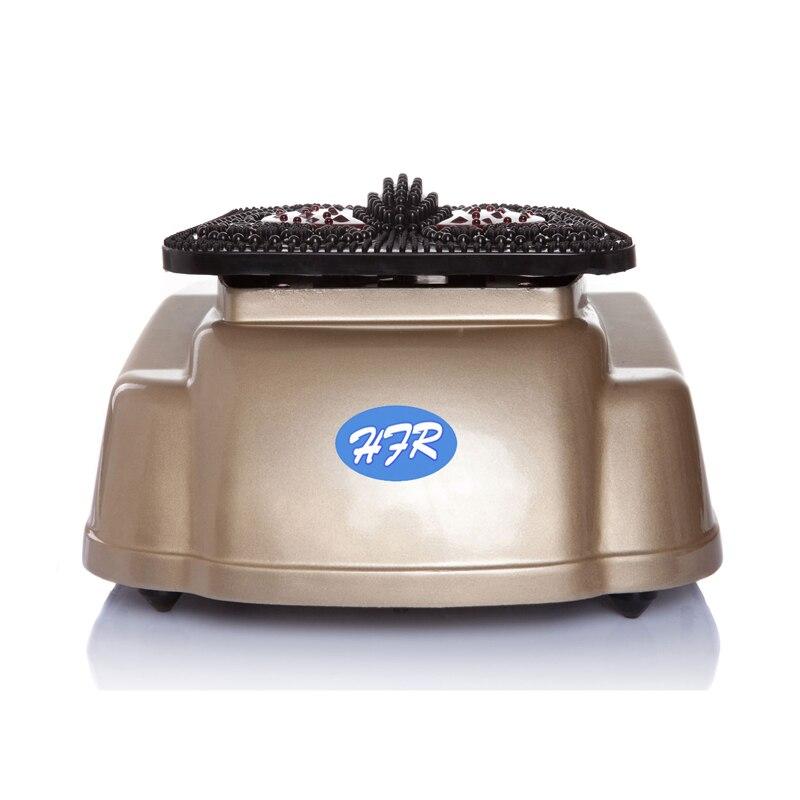 HFR-8805-5 HealthForever Marque Télécommande Jambes Électrique Muet Vibrant Circulation Sanguine Machine À Pied Masseur Instruction