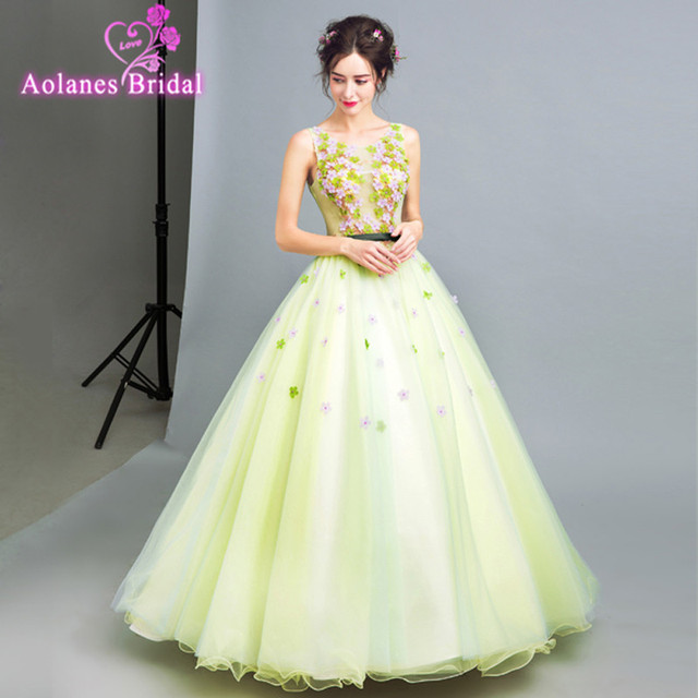 Events green lace dress