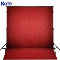 150*200Cm(5Ft*6.5Ft) Kate Digital Printing Photography Backdrops Fond Photo Studio Stylish Red Tone Color Wall