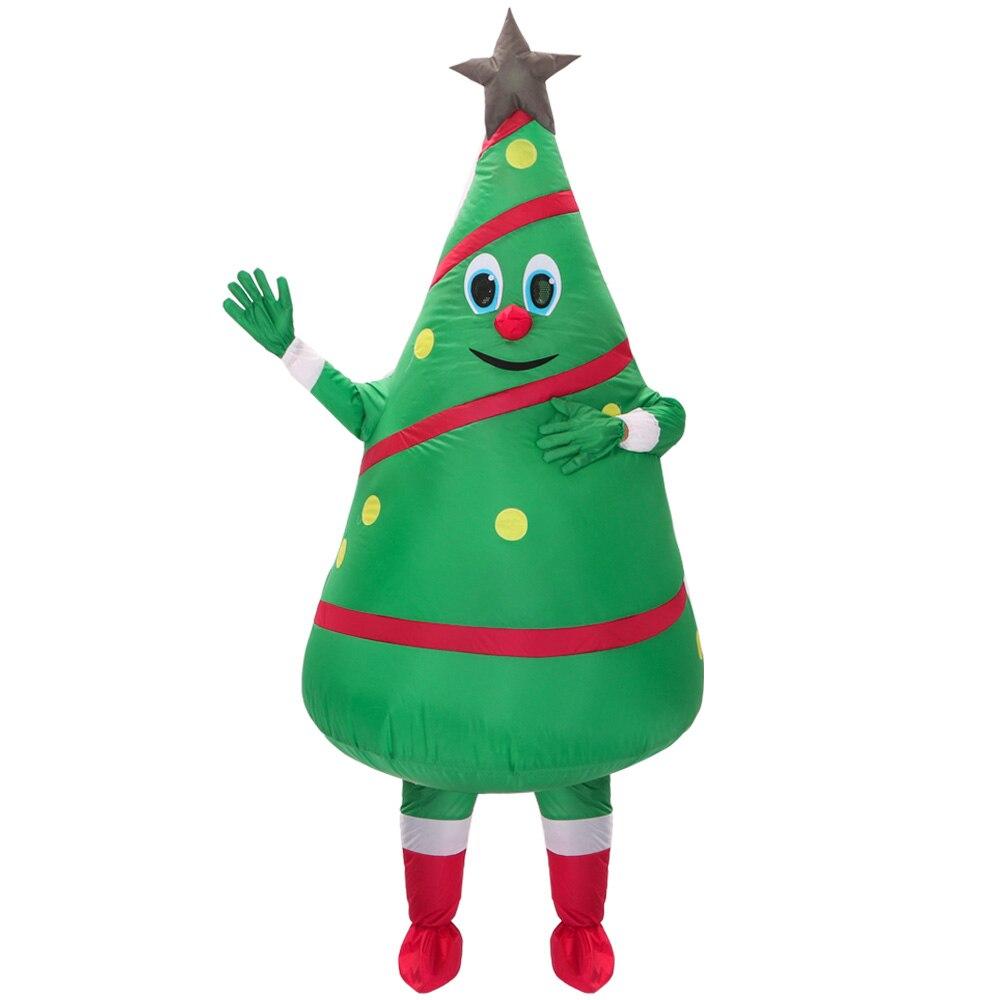 Offre spéciale adulte costume gonflable nouveau design vert arbre de noël mascotte Costume livraison gratuite