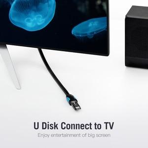 Image 5 - Vention USB2.0 3.0 延長ケーブル男性女性延長ケーブルUSB3.0 ケーブル拡張ノートpcのusb延長ケーブル 0.5 メートル 3 メートル
