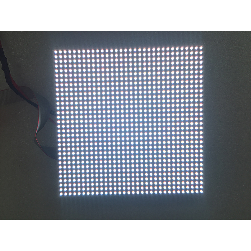 P6mm 192*192mm SMD3535 32*32Pixels 1/8Scan LED Module For Outdoor Waterproof RGB LED Video Wall Billboard, LED Screen Panel