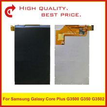 "10 adet/grup 4.3 ""Samsung Galaxy Core Plus Için G3500 G350 G3502 lcd ekran Ekran Pantalla Monitör"