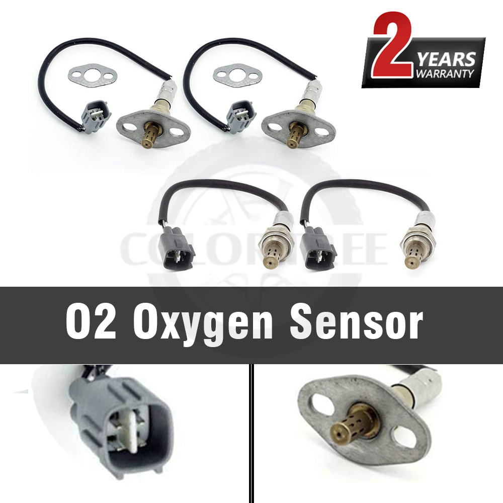 4PCS Auto <font><b>Parts</b></font> Downstream Air Fuel Ratio O2 Oxygen Sensors Upstream For <font><b>Lexus</b></font> <font><b>LX470</b></font> Base - 4.7L 1998 SG823 13441 ES20194 image