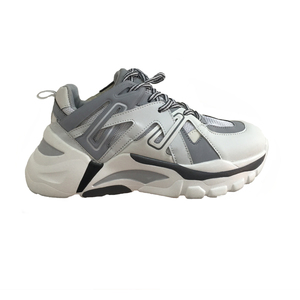 Image 5 - Ins Daddy Shoes Men Reflective Sneakers Summer Zapatillas Deportivas Hombre Fashion Breathable Casual Shoes Sapato Masculino