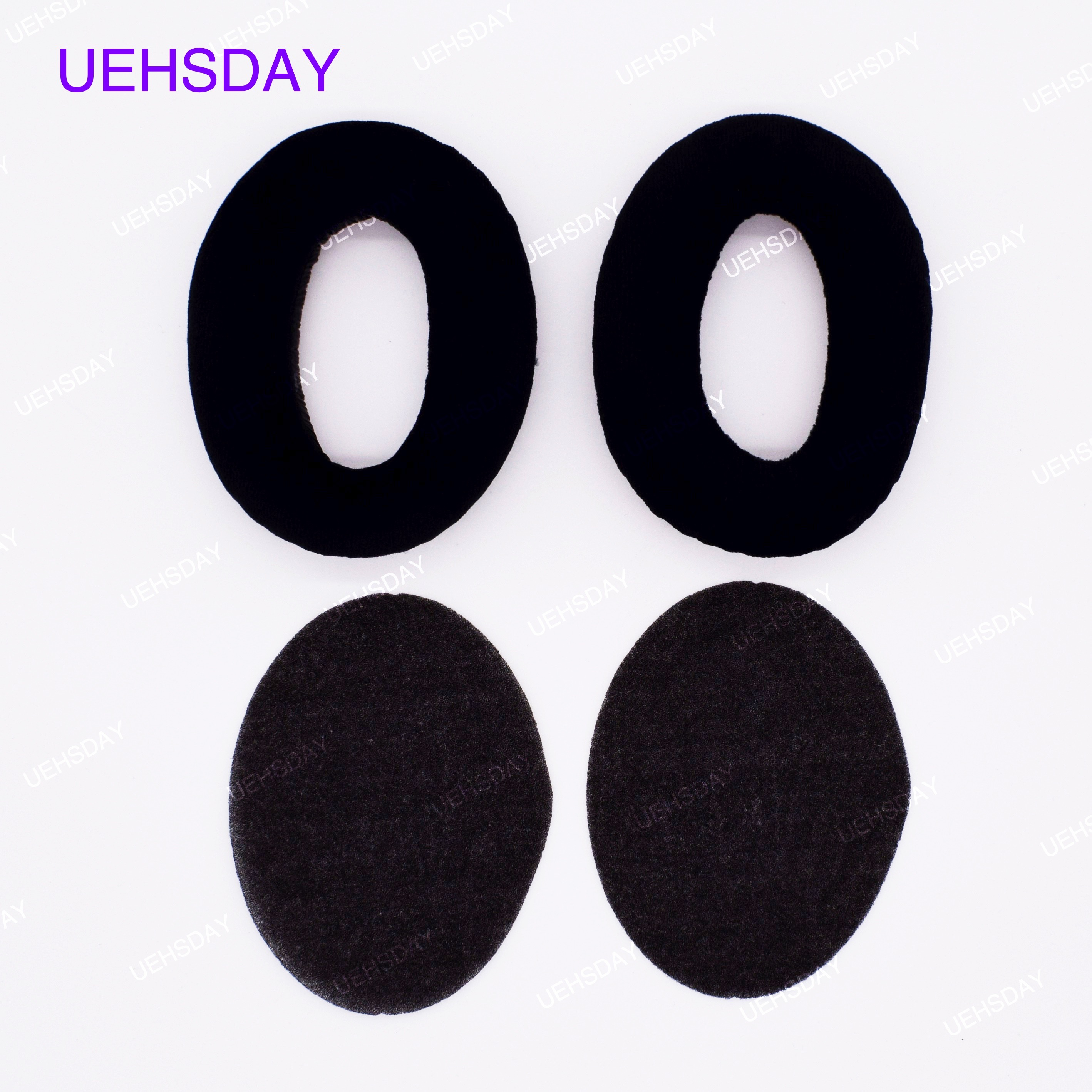 1 Pair Soft Foam <font><b>Ear</b></font> <font><b>Pads</b></font> Cushion For <font><b>Sennheiser</b></font> Headphones HD545 HD565 HD580 HD600 <font><b>HD650</b></font> Replacement <font><b>Ear</b></font> Cup image