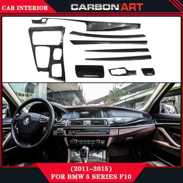 Voor BMW 5 Serie F10 Carbon Auto interieur Reparatie Sticker ...