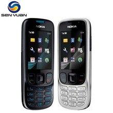 6303 Orijinal Unlocked Nokia 6303 Classic FM GSM 3MP Kamera Cep telefonu rusça klavye desteği