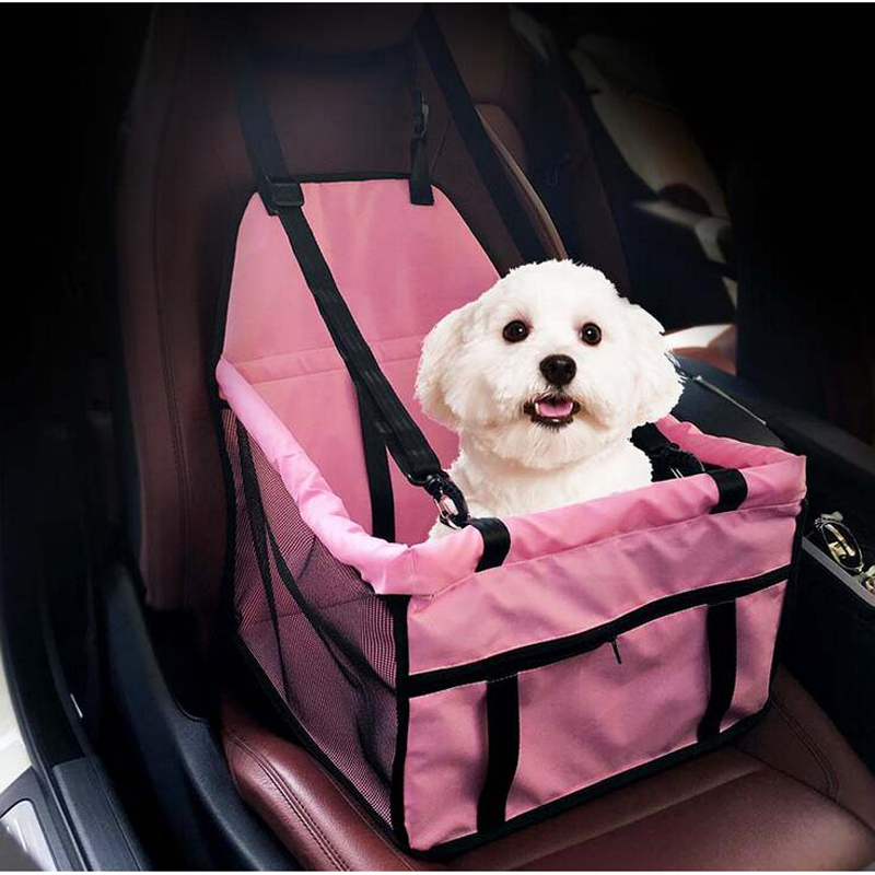 Foldable Puppy Dog Carrier Car Seat Pad Safe Carry waterproof dog bag Breathable pet car mats Prevent motion sickness