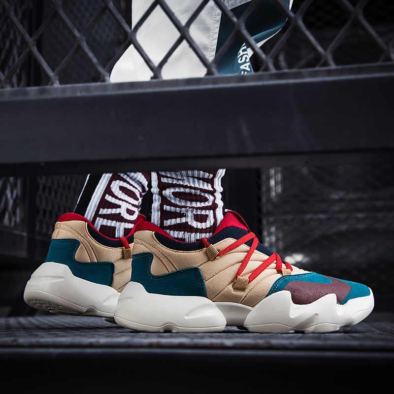 Винтажные мужские кроссовки для папы; Новинка 2018 года; Kanye West; танцевальный светильник в стиле хип-хоп; дышащая мужская повседневная обувь; мужские кроссовки; zapatos hombre