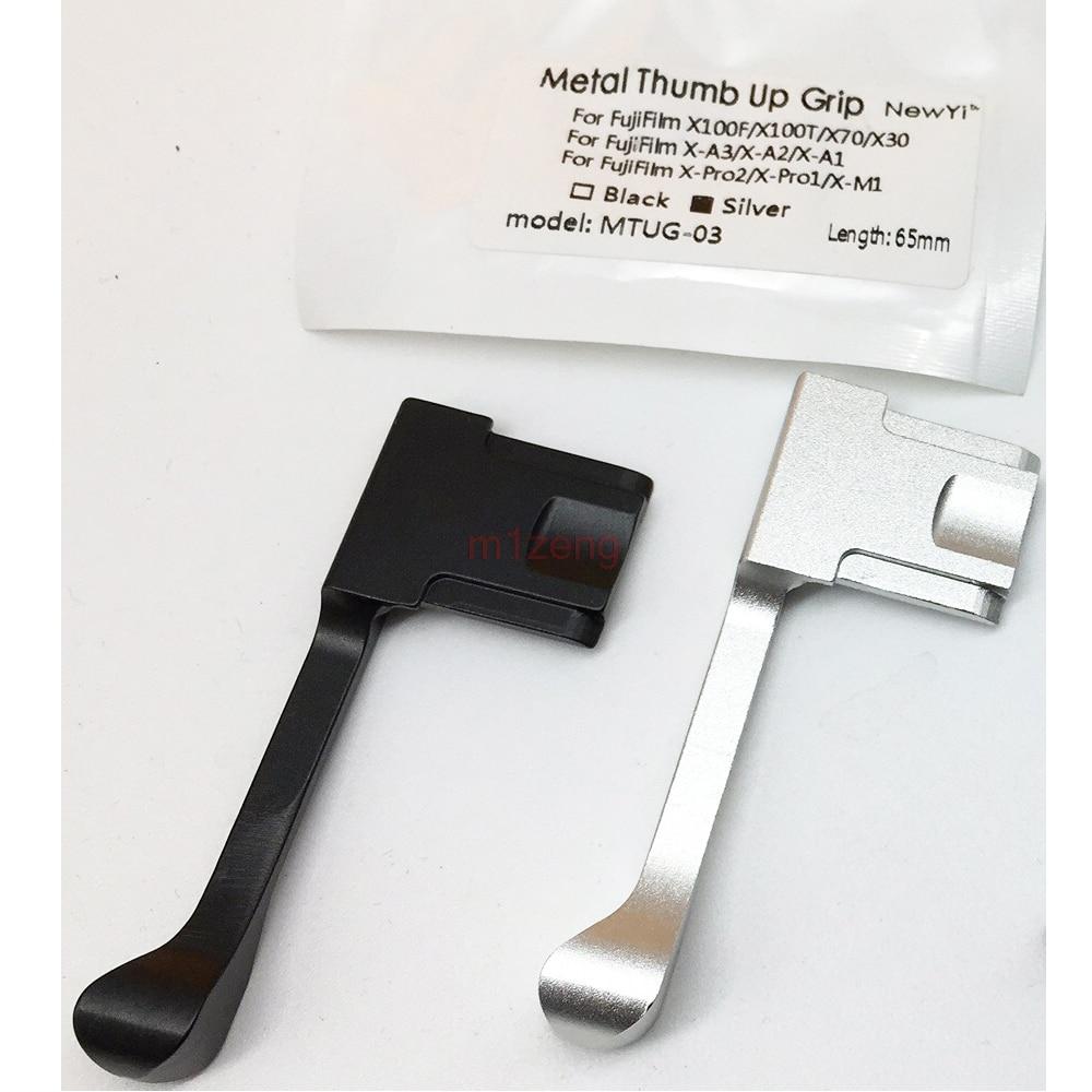 Metel Thumb Up Hot Shoe Hand Grip Hotshoe Bracket For Fujifilm Fuji X100F X100T X70 X30 X-A3 X-A2 X-A1 X-PRO2 X-PRO1 X-M1 Camera
