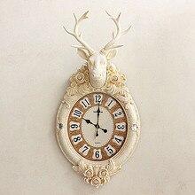 Crafts Arts Home decoration Silent watch clock European living fashion creative guabiao modern clock quartz clock simulation dee