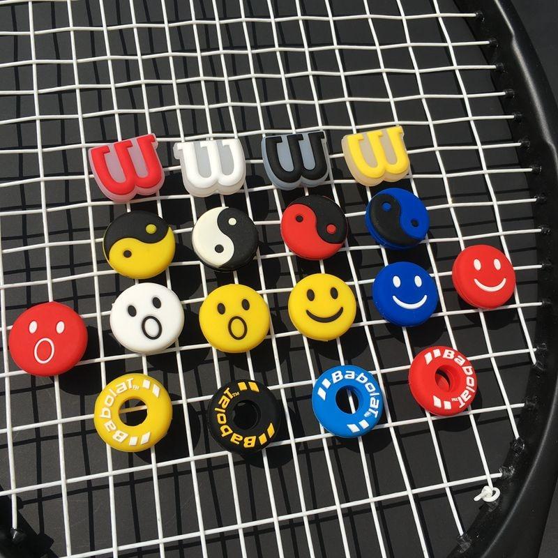 100pcs Assorted Various Tennis Racket Vibration Dampeners,tennis Racquet Shock Absorber Shock-absorbing