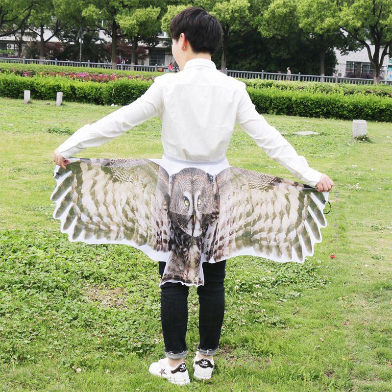 SPECIAL 120*70 Cm Owl Costume Wings Summer Sunscreen Travel Gifts Thanksgiving Christmas Carnival Party Costumes Cosplay