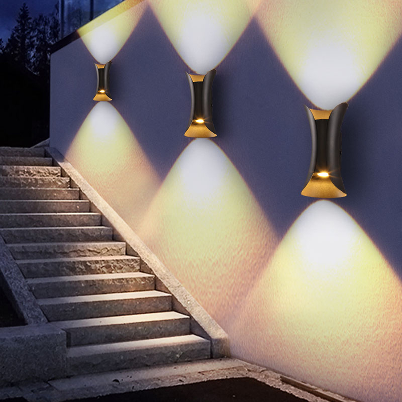 все цены на lampada led waterproof indoor outdoor Led Wall Lamp Aluminum Adjustable Surface Mounted Cube Garden Porch Light with led driver онлайн