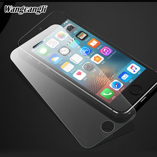 1pcs 2.5D Tempered Glass for iphone se glass Screen protector For iphone 4 4s 5 5s HD protective glass for iphone 5s glass protective plastic back case with folding stand screen protector for iphone 4 4s green