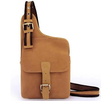 Wholesale Genuine Leather Men shoulder bag Messenger Bags men leather crossbody bag sling Chest Pack bullcaptain 019 genuine leather bag men chest pack travel brand design sling bag business shoulder crossbody bags for men