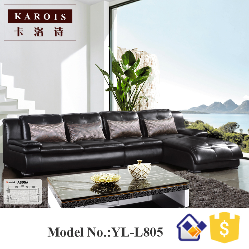import furniture from china living room furniture sleeper couch l shape sectional sofacorner sofa leather