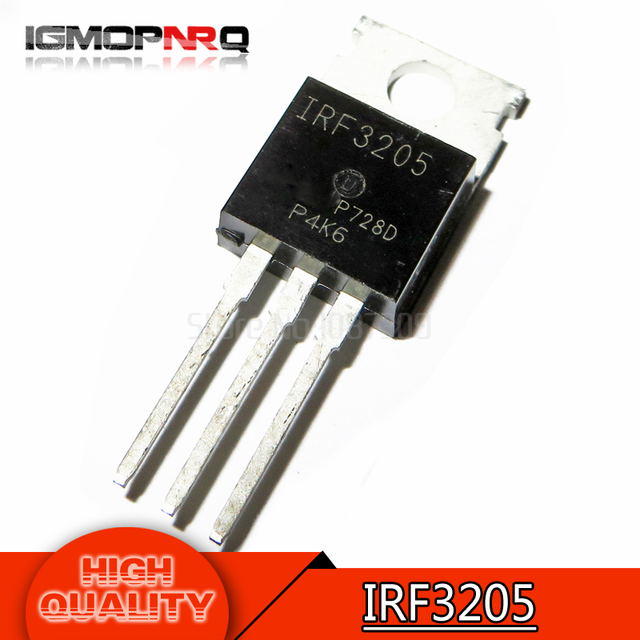 10pcs free shipping IRF3205 IRF3205PBF MOSFET MOSFT 55V 98A 8mOhm 97.3nC TO-220 new original