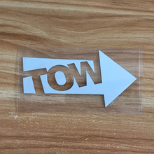 JDM TOW style Car sticker scratch HellaFlush reflective stickers for honda toyota Mitsubishi nissan mazda accessories