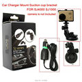 Free Shipping!! Car Charger Mount Suction cup bracket for SJ4000 SJ1000 Action Cam DV