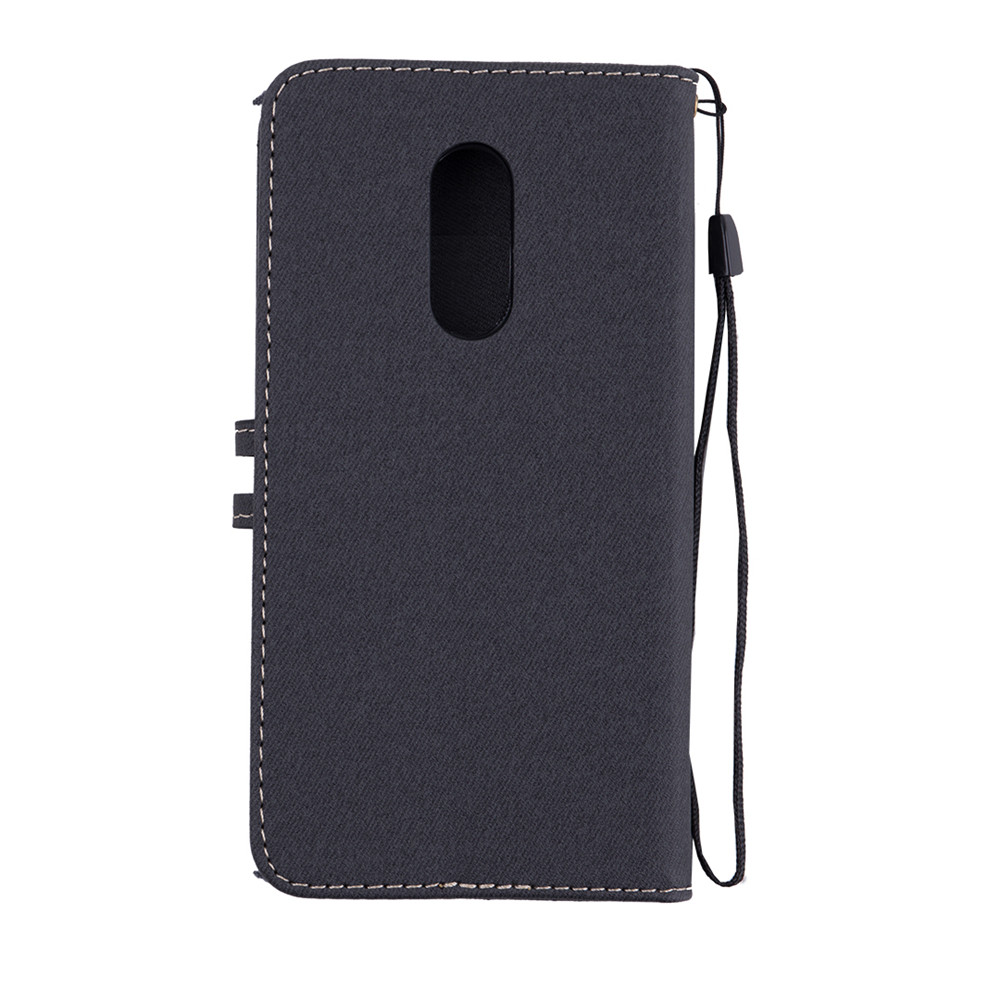Xiaomi Redmi 5 Plus Case Redmi 5A cover Canvas Leather Flip Phone Case Xiaomi Redmi 5 Redmi Note 5A Redmi Note 4X Redmi 3S Cases With lanyard4